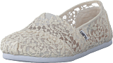 Toms - Seasonal Classics White Lace Leaves
