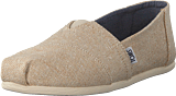 Toms - Seasonal Classics Natural Metallic Linen