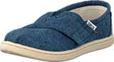 Toms - Seasonal Classic Kids Navy Chambray