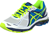 Asics - GT 2000 3 White/Flash Yellow/Indigo Blue