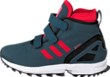 adidas Originals - Zx Flux Winter Cf K Midnight/Tomato/Ftwr White