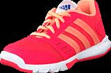 adidas Sport Performance - Essential Star 2 K Shock Red/Sun Glow/Eqt Blue