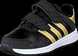 adidas Sport Performance - Snice 4 Cf I Black/Gold Met/Ftwr White