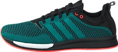 adidas Sport Performance - Adizero Feather Boost M Core Black/Eqt Green/White