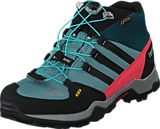 adidas Sport Performance - Terrex Mid Gtx K Vapour Steel/Black/Tech Green