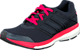 adidas Sport Performance - Supernova Glide Boost 7 W Night Navy/Silver/Flash Red