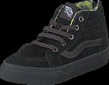 Vans - SK8-Hi Zip (MTE) black/lime punch