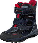 Geox - J Orizont B. Abx A - Text+Sue Navy/Red