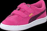 Puma - Suede 2 Straps Kids Pink