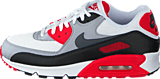 Nike - Nike Air Max 90 Essential White/Dark Grey-Wolf Grey-Blk