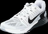 Nike - Nike Lunarglide 7 White/Black-Anthracite-Cl Grey