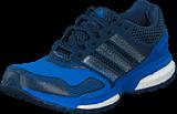 adidas Sport Performance - Response Boost 2 Techfit J Shock Blue/White/Mineral Blue