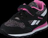 Reebok Classic - Jb Bagheera Runner Black/Shark/Icono Pink/White