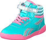 Reebok Classic - Frozen F/S Hi Aqua Faze/Silvr/Pixie Pnk
