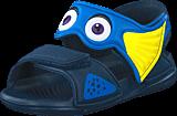 adidas Sport Performance - Disney Akwah 9 I Mineral Blue/Blue/Yellow