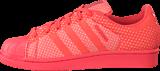 adidas Originals - Superstar Weave Bright Coral/Ftwr White