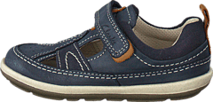 Clarks - Softly Luke Fst Navy Leather