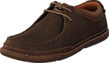 Clarks - Trapell Pace Dark Brown Lea