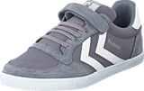 Hummel - Slimmer stadil canvas low Frost grey