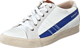 Diesel - D-String Low White/Mazarine Blue