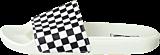 Vans - Slide-On (Checkerboard) White/Black