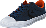Converse - Star Player Nylon-Ox Navy/Black/Fire Pit