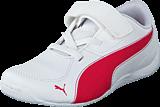 Puma - Drift Cat 5 L NU V Kids White-Rose Red