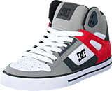 DC Shoes - Dc Spartan Hi Wc Grey/Red/White
