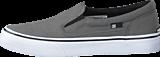 DC Shoes - Dc Kids Trase Slip-On Shoe Grey/Black/White