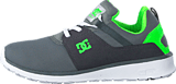DC Shoes - Dc Kids Heathrow Shoe Grey/White/Green