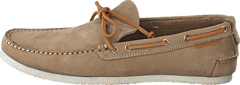 Hush Puppies - Jonas Mens Moc Taupe