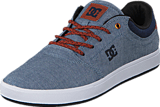 DC Shoes - Crisis TX Indigo Dark Worn