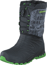 Merrell - Snow Quest Lite WTPF Black/Green/Print