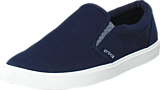 Crocs - CitiLane Slip-on Sneaker M Navy/White