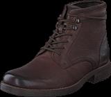 Clarks - Ashburn Top Dark Brown Leather
