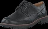 Clarks - Montacute Hall Black Leather