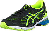 Asics - GT 1000 5 Black / Safety Yellow / Blue