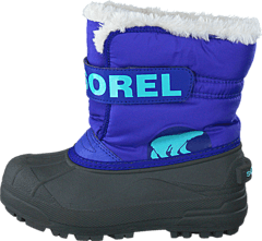 Sorel - Childrens Snow Commander Purple Lotus, Clear Blue