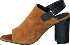 Blankens - The Jolene Tabaco Suede/Black Grain