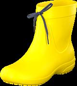 Crocs - Crocs Freesail Shorty RainBoot Lemon
