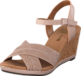 Clarks - Helio Latitude Nude Leather