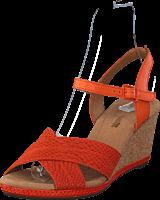 Clarks - Helio Latitude Orange Leather