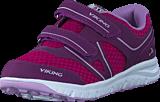 Viking - Hel II Plum/Dark Pink