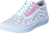 Vans - UY Old Skool Zip wind chime/pink lady