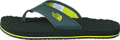 The North Face - Men's Base Camp Flip-Flop Thyme/ Sulphur Spring Green