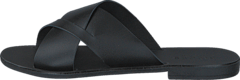 Pieces - Pslucca Leather Sandal Black