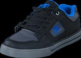 DC Shoes - Pure SE Black/Grey/Blue