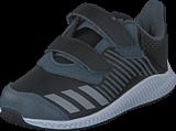 adidas Sport Performance - Fortarun Cf I Core Black/Silver Met./Onix