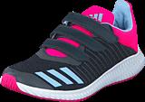 adidas Sport Performance - Fortarun Cf K Dark Grey/Easy Blue S17/Shock