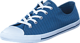 Converse - CTAS Dainty Perforated Ox Blue Coast/ White